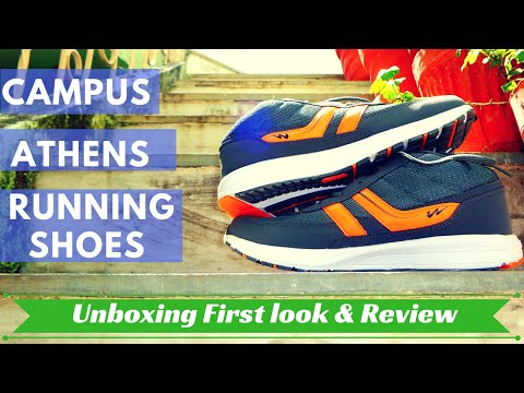 Campus Athens Budget Running shoes Unboxing and Review