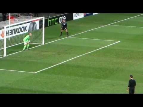 The final goal: Benfica vs. Tottenham Euro League 2014