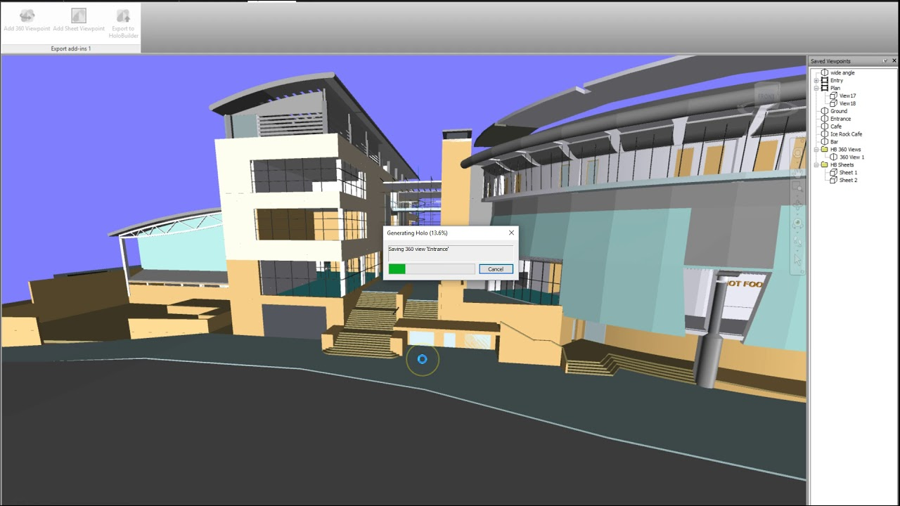 The HoloBuilder Add-In for Autodesk Navisworks > HoloBuilder