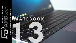 Компанія Huawei сайту MateBook 13 Розпакування та огляд та порівняння з 2018 сайту MateBook х Pro