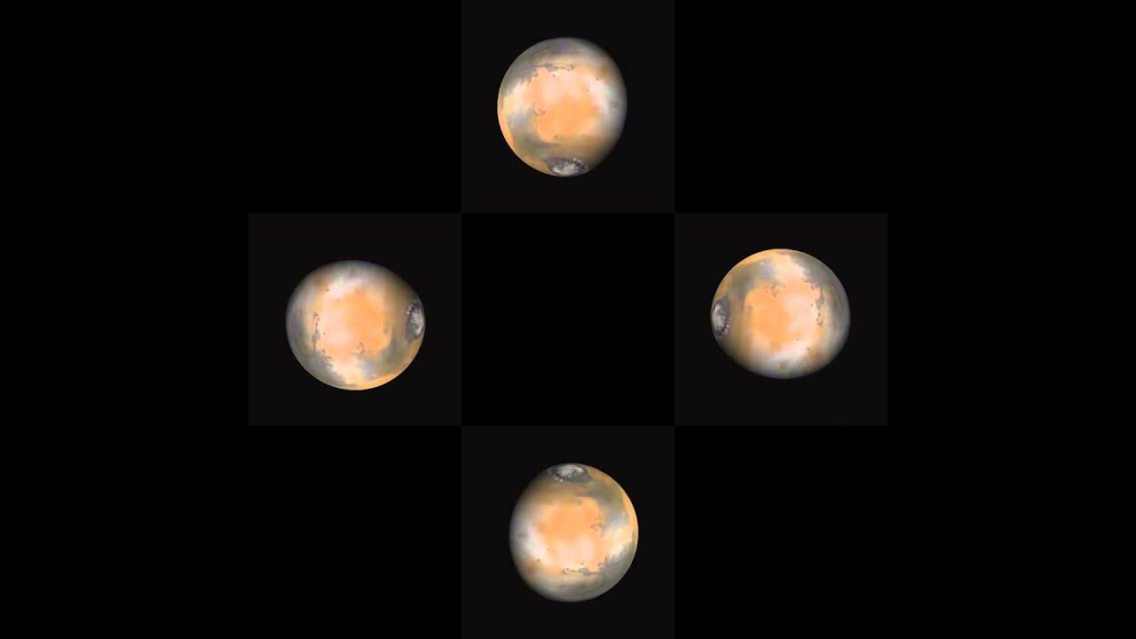 Hologram 3D Planet Mars - YouTube
