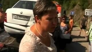 Массовая авария на Мамайском перевале