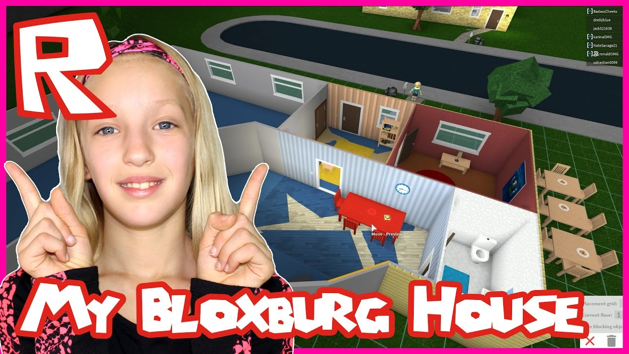 Making My House Bigger In Roblox Bloxburg Youtube