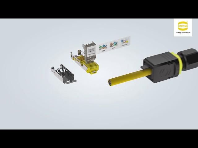 HARTING PushPull RJ45 V4 Industrial 10 G