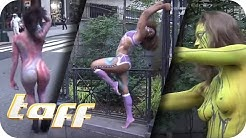 NACKT in NEW YORK: Bodypainting-Day am Big Apple | taff | ProSieben