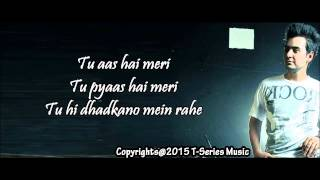 Omer Nadeem   Tu Aas Hai Meri ft  Khiza   With Lyrics