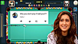 This is why i don't play 9ballpool 😂