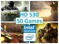 Intel HD Graphics 530 Performance Test in 50 Games!