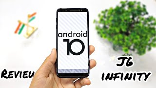 Samsung J6 infinity Android 10 full review with new features and improvement