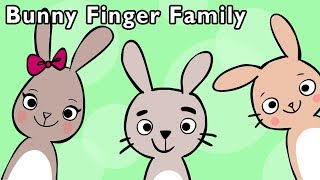 🐰Bunny Finger Family and More | CUTE ANIMAL FINGER SONGS | Nursery Rhymes from Mother Goose Club!