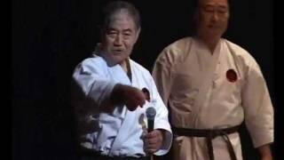 Видео 3-х выдающихся мастеров каратэ