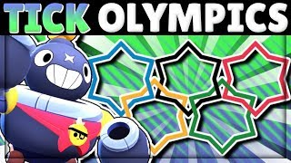 TICK OLYMPICS! | Comparing Tick to EVERY Brawler! | New Brawler Tick!