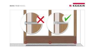 видео Отделка лестницы ламинатом своими руками: пошаговый инструктаж