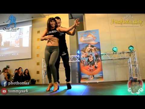 Que Rico Dance Company Jorge Contreras & Aubrey [Bachata Partnerwork] @ Bachata Day 2016