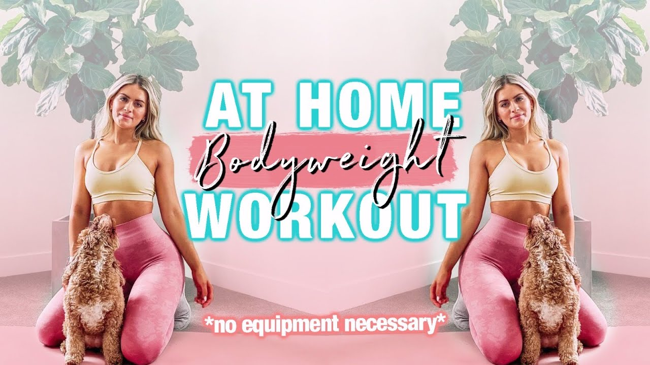 25 MINUTE HOME WORKOUT! NO EQUIPMENT