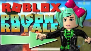 Hunger Games or Battlegrounds in ROBLOX! Prison Royale, SallyGreenGamer, Geegee92, Family Friendly