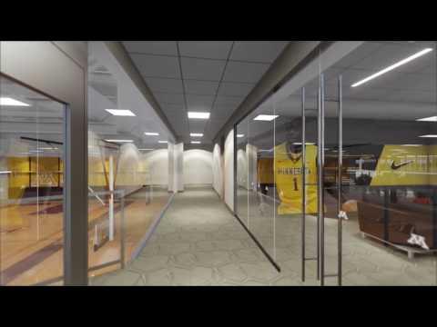 University of Minnesota Basketball Development Center Flythrough