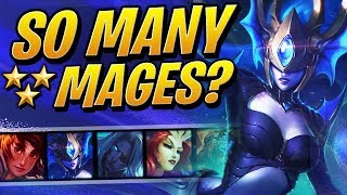 SO MANY 3 STAR MAGES!? | Teamfight Tactics Set 2 | TFT | League of Legends Auto Chess