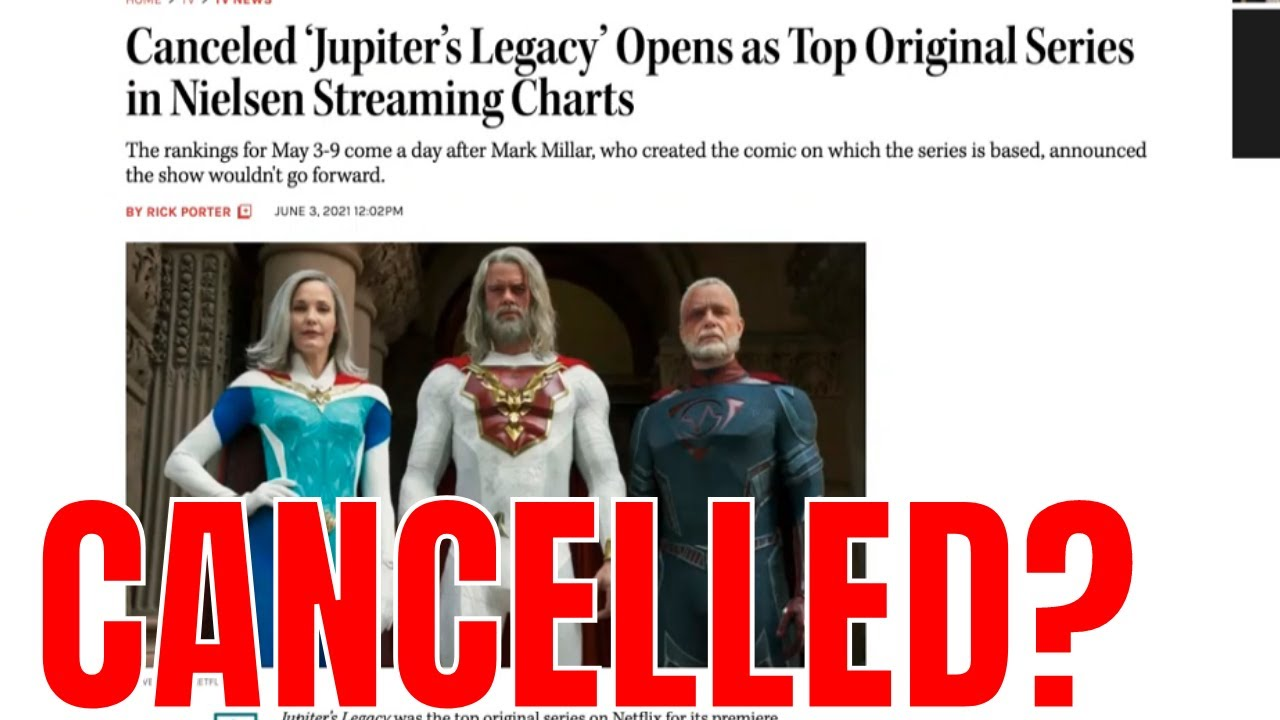 Jupiter's Legacy Cancelled?  Millar World in Trouble?