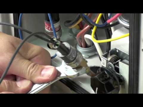 Heat Siphon SVC VIDEO-Replace Refrigerant High Pressure Switch