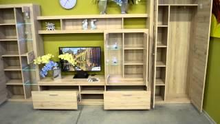Стенка горка Оскар со шкафом(Мебель в Минске с доставкой и сборкой можно купить в нашем интернет магазине баймебель.бай! http://buymebel.by/ ..., 2015-07-31T09:26:39.000Z)