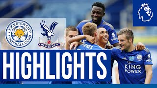 Vardy Joins Premier League 100 Club In Dominant Win | Leicester City 3 Crystal Palace 0 | 2019/20
