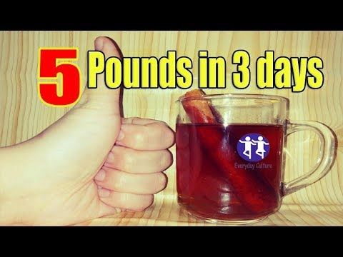 5 Pounds weight loss in 3 days with This miracle fat Burner remedy What this Can do in your body is