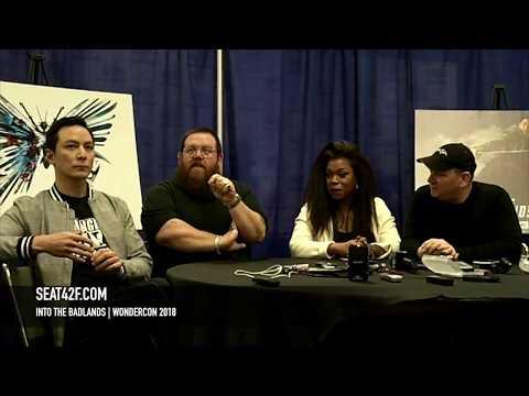 Into The Badlands Daniel Wu, Nick Frost, Lorraine Toussaint  WonderCon 2018 HD