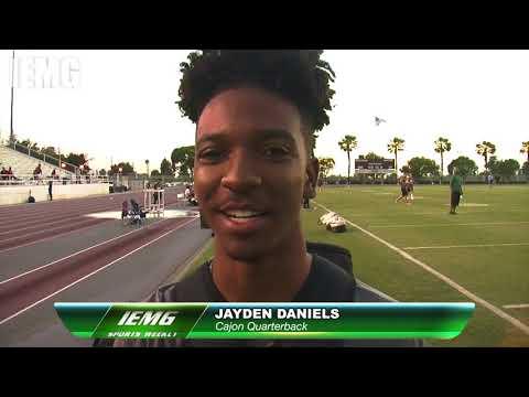 City of San Bernardino Sports Weekly FOOTBALL: Cajon jumps to CIF-SS Division 3 & QB Jayden Daniels