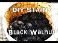 How to make homemade Black Walnut stain from scratch!