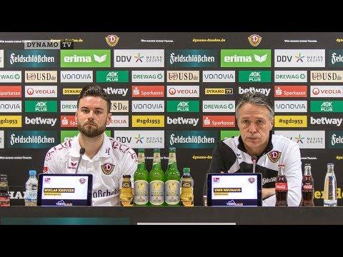 24. Spieltag   DSC - SGD   Pressekonferenz vor dem Spiel