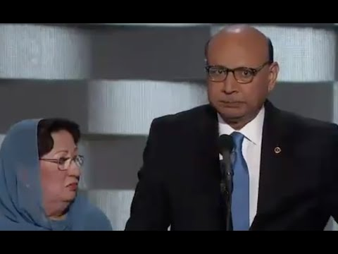 FULL: Khizr Khan son was 1 of 14 American Muslims who died serving - Democratic National Convention