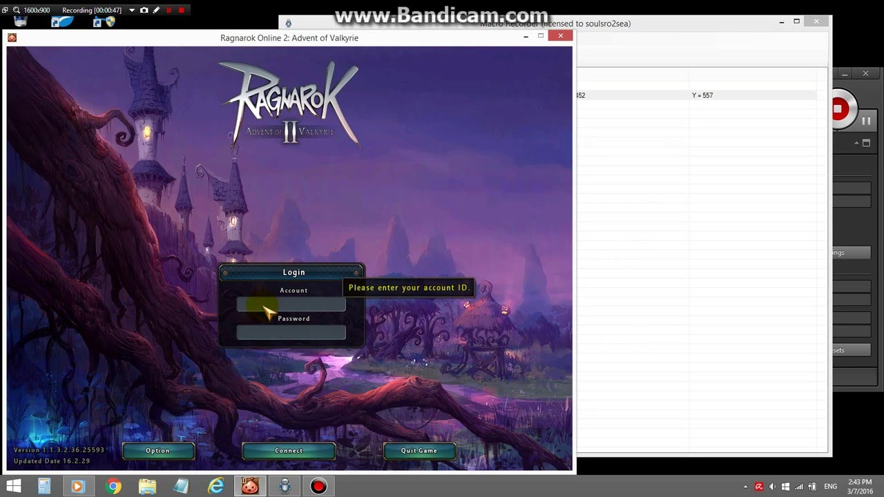 Bot Login into Ro2 x9001~! | Guide for Ragnarok 2: Advent of Valkyrie