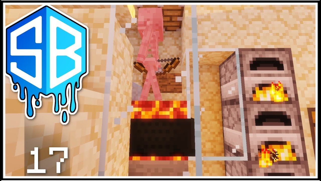 Minecraft Afk Skeleton Grinder Arrow Farm Ep 17 Sourceblock Smp Lets Play Youtube