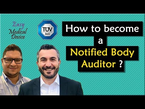 How To Become A Notified Body Auditor? (Bassil Akra TÜV SÜD)