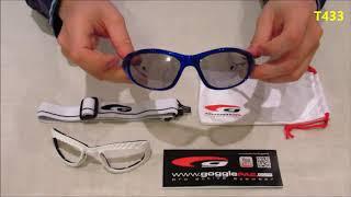 Очки маска Goggle T433   обзор