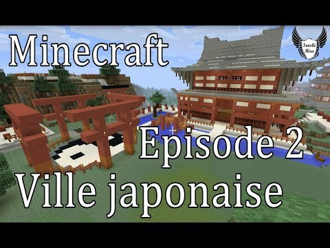 Minecraft Ep 2 Toit Du Temple Japonais Ying Yang Youtube