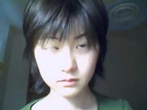 Chinese girl eyes