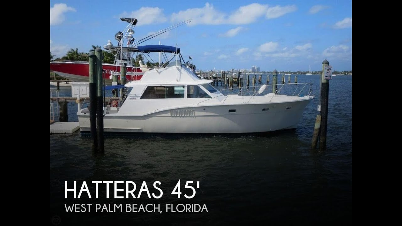 UNAVAILABLE Used 1973 Hatteras 45 Convertible In West