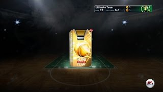 NBA Live 15 PS4 Ultimate Team Mode Gameplay - Gold Premium Pack Opening!!