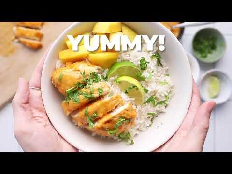 Mango Chile Chicken Bowls