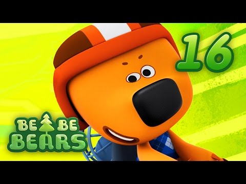 BE BE BEARS Ep 16 - Animated cartoon kids show - red car series 2017 KEDOO animation for kids - 동영상