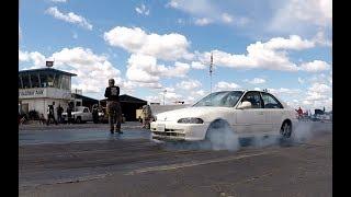 4 Turbo Civics = Tons of FUN   STREET2TRACK SPRING JAM 4/29/2018