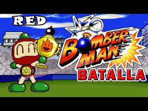 NEO BOMBERMAN Modo batalla -  RED
