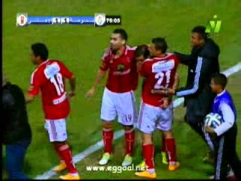 اهداف مباراة الاهلى وسموحة 3-1 الدورى المصرى 11-12-2014 ahly - smoha goals