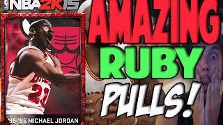 ALL TIME SCORER PACK OPENING | NBA 2K15 MY TEAM | RUBY PULLS