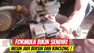 Cara Mudah Bersihkan Blok Mesin MOTOR