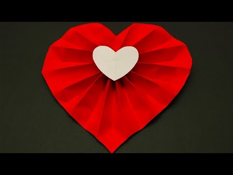 DIY Paper Hearts | How To Make Paper Hearts | Valentine's Day Craft Ideas
