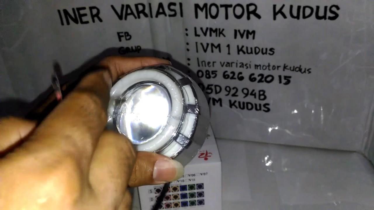 Lampu Proji Led 3 5 Inch Projie 3 Mode Projector Iner Variasi Motor