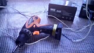 Қорғасын-қышқылды электр аккумуляторлар MNB қоректендіру үшін шуруповерта
